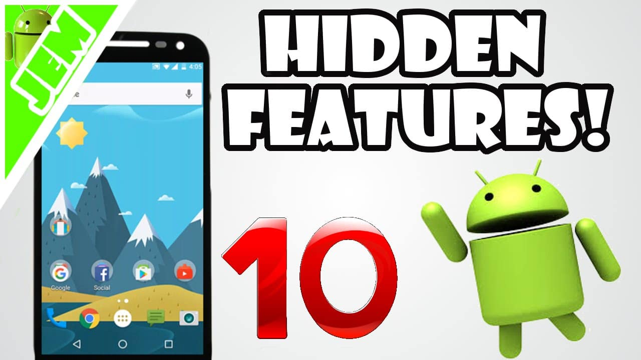 Top 10 Ultimate Hidden Tricks and Features Of Android - Technology Sage Videos