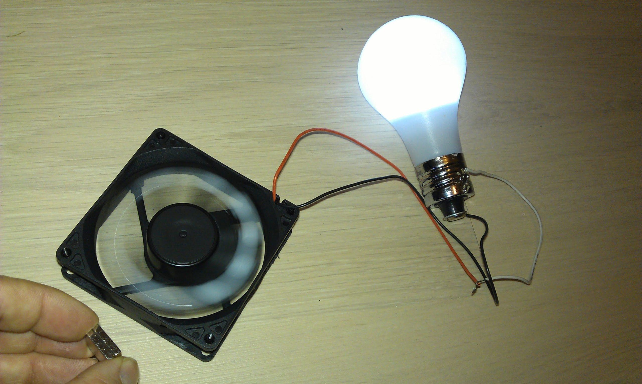 Электричество на магнитах своими руками
